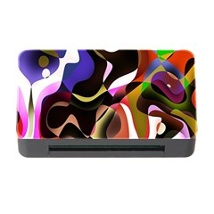 Colourful Abstract Background Design Memory Card Reader with CF