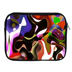 Colourful Abstract Background Design Apple iPad 2/3/4 Zipper Cases
