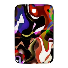 Colourful Abstract Background Design Samsung Galaxy Note 8.0 N5100 Hardshell Case