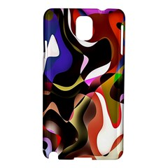 Colourful Abstract Background Design Samsung Galaxy Note 3 N9005 Hardshell Case