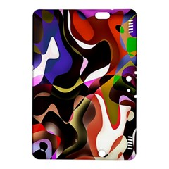 Colourful Abstract Background Design Kindle Fire HDX 8.9  Hardshell Case