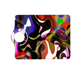 Colourful Abstract Background Design Kindle Fire HD (2013) Flip 360 Case