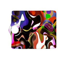 Colourful Abstract Background Design Kindle Fire Hdx 8 9  Flip 360 Case