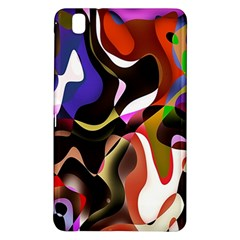 Colourful Abstract Background Design Samsung Galaxy Tab Pro 8.4 Hardshell Case