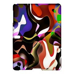Colourful Abstract Background Design Samsung Galaxy Tab S (10.5 ) Hardshell Case