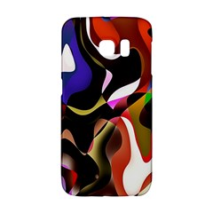 Colourful Abstract Background Design Galaxy S6 Edge