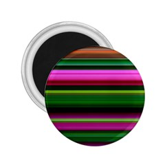 Multi Colored Stripes Background Wallpaper 2 25  Magnets