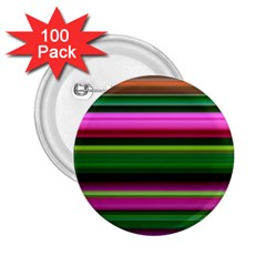 Multi Colored Stripes Background Wallpaper 2 25  Buttons (100 Pack)