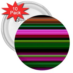 Multi Colored Stripes Background Wallpaper 3  Buttons (10 Pack)