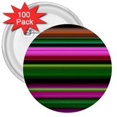 Multi Colored Stripes Background Wallpaper 3  Buttons (100 Pack)