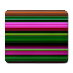 Multi Colored Stripes Background Wallpaper Large Mousepads