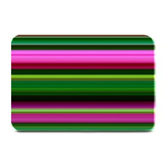 Multi Colored Stripes Background Wallpaper Plate Mats