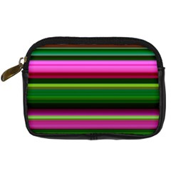 Multi Colored Stripes Background Wallpaper Digital Camera Cases