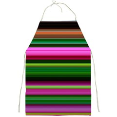 Multi Colored Stripes Background Wallpaper Full Print Aprons