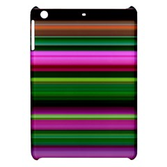 Multi Colored Stripes Background Wallpaper Apple Ipad Mini Hardshell Case