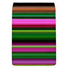 Multi Colored Stripes Background Wallpaper Flap Covers (S)