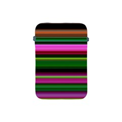 Multi Colored Stripes Background Wallpaper Apple iPad Mini Protective Soft Cases