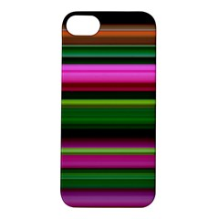 Multi Colored Stripes Background Wallpaper Apple Iphone 5s/ Se Hardshell Case