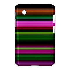 Multi Colored Stripes Background Wallpaper Samsung Galaxy Tab 2 (7 ) P3100 Hardshell Case