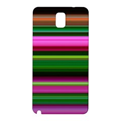 Multi Colored Stripes Background Wallpaper Samsung Galaxy Note 3 N9005 Hardshell Back Case