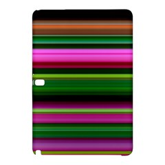 Multi Colored Stripes Background Wallpaper Samsung Galaxy Tab Pro 10.1 Hardshell Case