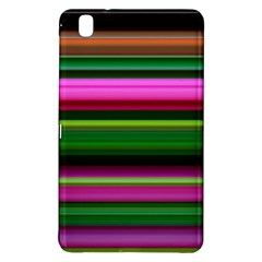 Multi Colored Stripes Background Wallpaper Samsung Galaxy Tab Pro 8.4 Hardshell Case