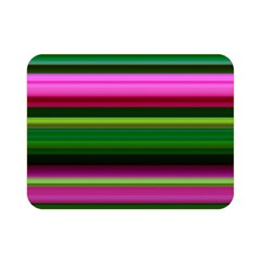 Multi Colored Stripes Background Wallpaper Double Sided Flano Blanket (Mini)