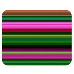 Multi Colored Stripes Background Wallpaper Double Sided Flano Blanket (Medium)