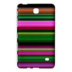 Multi Colored Stripes Background Wallpaper Samsung Galaxy Tab 4 (7 ) Hardshell Case