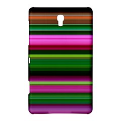 Multi Colored Stripes Background Wallpaper Samsung Galaxy Tab S (8 4 ) Hardshell Case