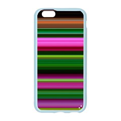 Multi Colored Stripes Background Wallpaper Apple Seamless iPhone 6/6S Case (Color)