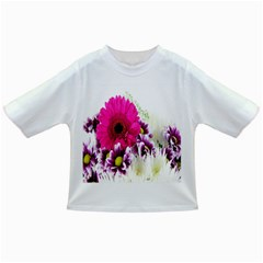 Pink Purple And White Flower Bouquet Infant/toddler T Shirts