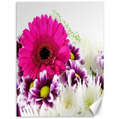 Pink Purple And White Flower Bouquet Canvas 36  X 48