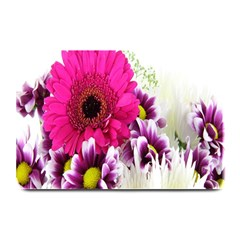 Pink Purple And White Flower Bouquet Plate Mats