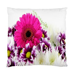 Pink Purple And White Flower Bouquet Standard Cushion Case (One Side)