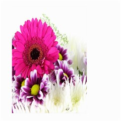 Pink Purple And White Flower Bouquet Large Garden Flag (two Sides)