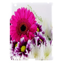 Pink Purple And White Flower Bouquet Apple iPad 3/4 Hardshell Case (Compatible with Smart Cover)