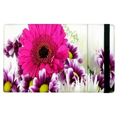Pink Purple And White Flower Bouquet Apple Ipad 3/4 Flip Case