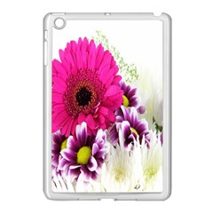 Pink Purple And White Flower Bouquet Apple iPad Mini Case (White)