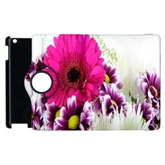 Pink Purple And White Flower Bouquet Apple iPad 3/4 Flip 360 Case