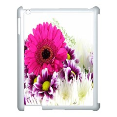 Pink Purple And White Flower Bouquet Apple Ipad 3/4 Case (white)