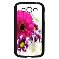Pink Purple And White Flower Bouquet Samsung Galaxy Grand DUOS I9082 Case (Black)