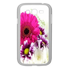Pink Purple And White Flower Bouquet Samsung Galaxy Grand DUOS I9082 Case (White)
