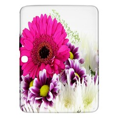 Pink Purple And White Flower Bouquet Samsung Galaxy Tab 3 (10.1 ) P5200 Hardshell Case