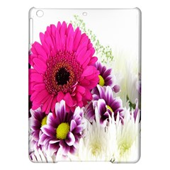 Pink Purple And White Flower Bouquet iPad Air Hardshell Cases