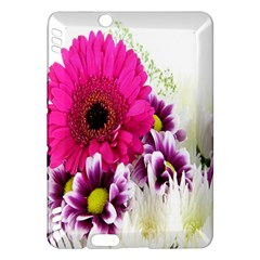 Pink Purple And White Flower Bouquet Kindle Fire HDX Hardshell Case