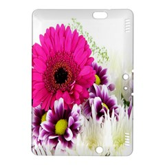 Pink Purple And White Flower Bouquet Kindle Fire HDX 8.9  Hardshell Case