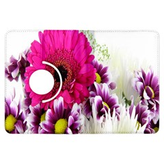 Pink Purple And White Flower Bouquet Kindle Fire Hdx Flip 360 Case