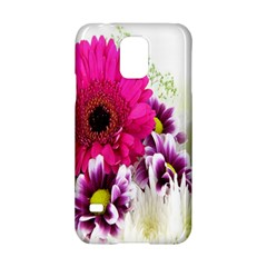 Pink Purple And White Flower Bouquet Samsung Galaxy S5 Hardshell Case