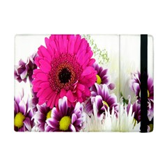Pink Purple And White Flower Bouquet Ipad Mini 2 Flip Cases